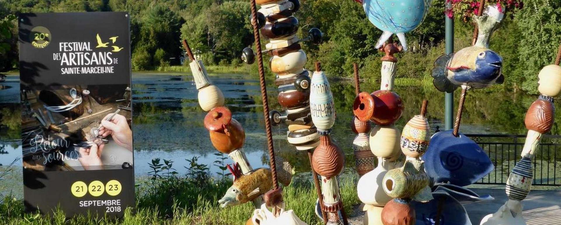 Festival des artisans, Sainte-Marcelline
